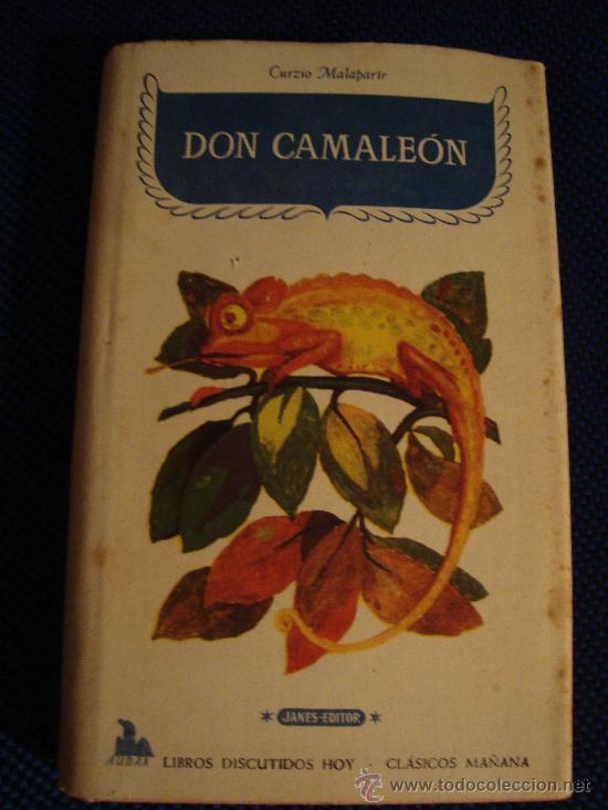 (280) DON CAMALEON - CURZIO MALAPARTE (Libros de Segunda Mano (posteriores a 1936) - Literatura - Narrativa - Otros)