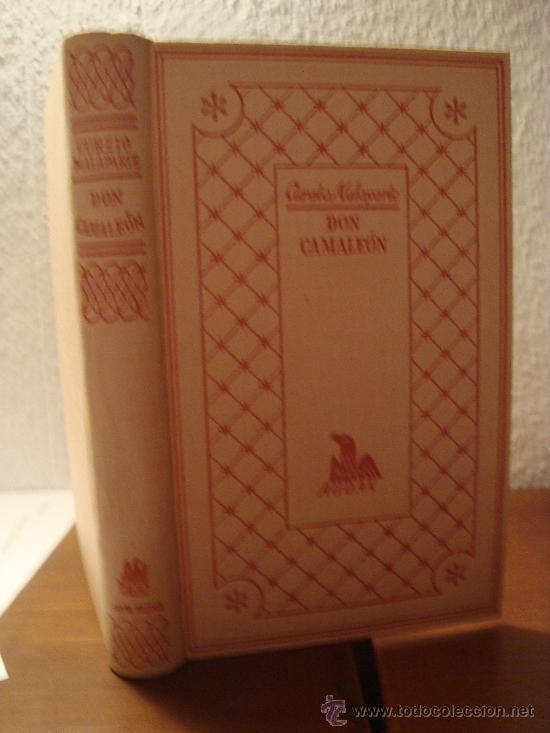 Libros de segunda mano: (280) DON CAMALEON - CURZIO MALAPARTE - Foto 2 - 30676496