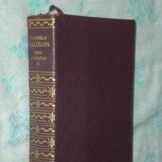 Libros de segunda mano: OBRAS COMPLETAS DE ROMULO GALLEGOS. (TOMO II). Lote 31117027