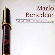 Libros de segunda mano: MARIO BENEDETTI - VARIACIONES SOBRE EL OLVIDO - MINI LETRAS H. KLICZKOWSKI - 2006. Lote 31545125