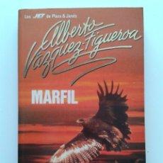 Libros de segunda mano: MARFIL - ALBERTO VAZQUEZ-FIGUEROA - PLAZA & JANES. Lote 31632721