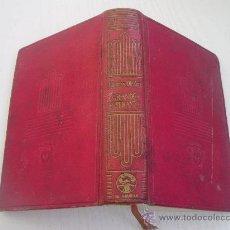 Libros de segunda mano: GRANDES ESPERANZAS - CHARLES DICKENS - CRISOL Nº 130 - AÑO 1.945 - AGUILAR. Lote 31745799