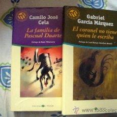 Libros de segunda mano: LA FAMILIA DE PASCUAL DUARTE-EL CORONEL NO TIENE QUIEN LE ESCRIBA, BIBLIOTECA EL MUNDO 2001. Lote 32040348