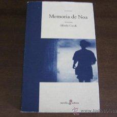 Libros de segunda mano: MEMORIA DE NOA - ALFREDO CONDE - EDHASA. Lote 32444812