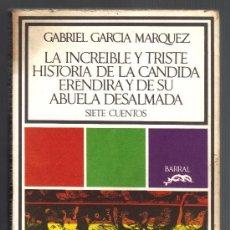 Libros de segunda mano: SIETE CUENTOS - GABRIEL GARCIA MARQUEZ.. Lote 33127341