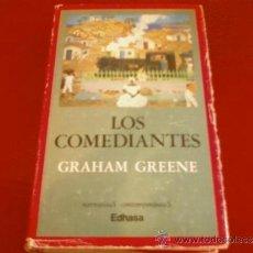 Livres d'occasion: GRAHAM GREENE. LOS COMEDIANTES. EDHASA. Lote 33349322