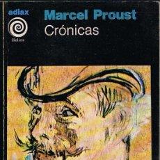 Libros de segunda mano: CRONICAS POR MARCEL PROUST. Lote 33659240