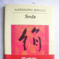 Libros de segunda mano: SEDA. BARICCO, ALESSANDRO. 2003. Lote 33913870