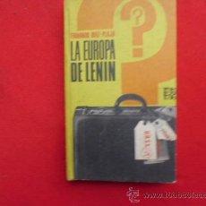 Livros em segunda mão: LIBRO LA EUROPA DE LENNIN FERNANDO DIAZ-PLAJA 1974 ED. PLAZA Y JANES L-2193. Lote 33993366