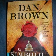 Libros de segunda mano: DAN BROWN- EL SIMBOLO PERDIDO. Lote 34224032