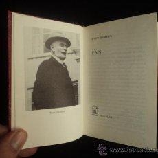 Libros de segunda mano: PAN. KNUT HAMSUN, CRISOL LITERARIO. AGUILAR. 1972 280 PAG. Lote 34254759