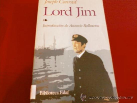 JOSEPH CONRAD. LORD JIM. EDAF (Libros de Segunda Mano (posteriores a 1936) - Literatura - Narrativa - Otros)