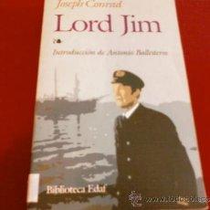 Livres d'occasion: JOSEPH CONRAD. LORD JIM. EDAF. Lote 34478125