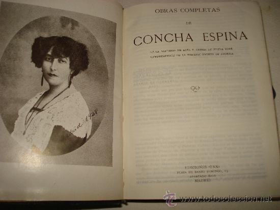 Libros de segunda mano: OBRAS COMPLETAS de CONCHA ESPINA de Ediciones FAX 1ª Edición de 1944. - Foto 2 - 34534217