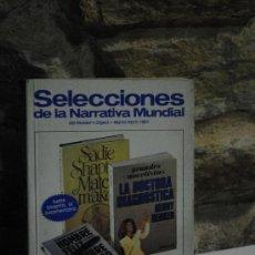 Libros de segunda mano: SELECCIONES DE LA NARRATIVA MUNDIAL DEL READER´S DIGEST. MARZO-ABRIL 1981- RUSTICA. Lote 34954812