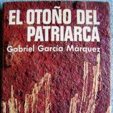Libros de segunda mano: EL OTOÑO DEL PATRIARCA. GABRIEL GARCIA MARQUEZ. PRIMERA EDICION PLAZA Y JANES EN 1975.. Lote 35718963