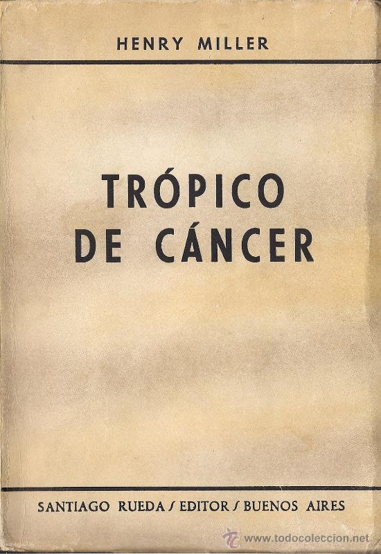 henry miller tropic of cancer pdf