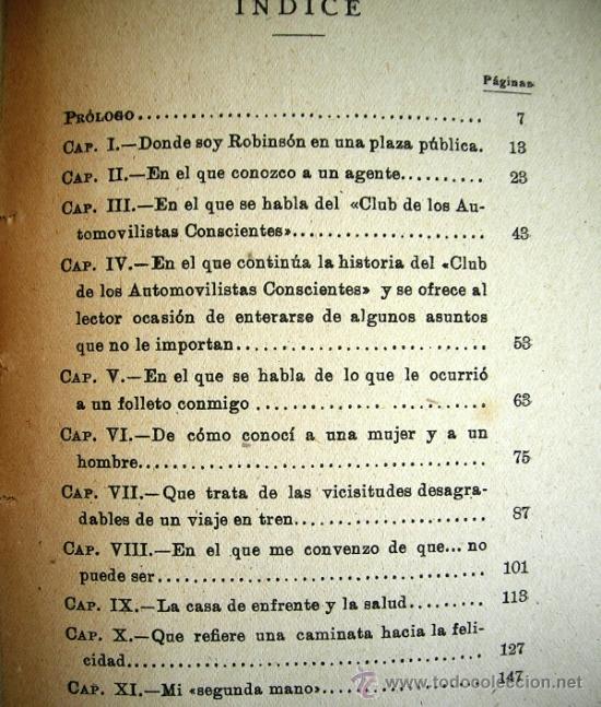 Libros de segunda mano: EL HOMBRE QUE COMPRO UN AUTOMOVIL. WENCESLAO FERNANDEZ FLOREZ. LIBRERIA GENERAL, ZARAGOZA, 1938. - Foto 6 - 35947216