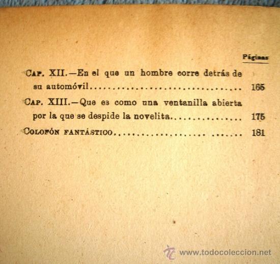 Libros de segunda mano: EL HOMBRE QUE COMPRO UN AUTOMOVIL. WENCESLAO FERNANDEZ FLOREZ. LIBRERIA GENERAL, ZARAGOZA, 1938. - Foto 7 - 35947216