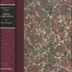 Libros de segunda mano: LEOPOLDO ALAS CLARÍN : OBRAS COMPLETAS III. NARRATIVA BREVE. (EDICIÓN DE CAROLYN RICHMOND). Lote 36056458