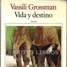 Libros de segunda mano: VASSILI GROSSMAN. VIDA Y DESTINO. BIBLIOTECA BREVE DE SEIX BARRAL. 1985. Lote 36189194