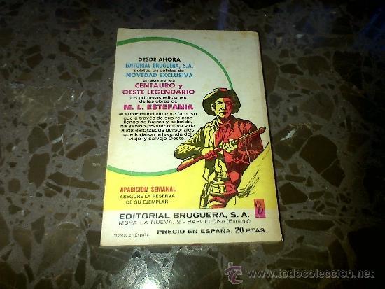 Libros de segunda mano: QUE SU MADRE RECE POR EL. SILVER KANE. BRUGUERA, 1976, COLECCIÓN BRAVO OESTE, nº 816 - Foto 3 - 37209252