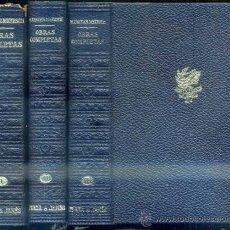 Libros de segunda mano: MAXENCE VAN DER MEERSCH : OBRAS COMPLETAS - TRES TOMOS. Lote 37238870