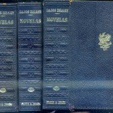 Libros de segunda mano: LAJOS ZILAHY : OBRAS COMPLETAS - TRES TOMOS. Lote 37238910