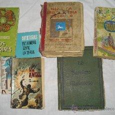 Libros de segunda mano: LOTE LIBROS ANTIGUOS LITERATURA NARRATIVA ZOLA, PORCEL, MONTERO, VARIOS. Lote 37461944