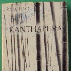 Libros de segunda mano: KANTHAPURA. RAJA RAO.EDITORIAL SEIX BARRAL 1966. 317 PÁGINAS.. Lote 37728880