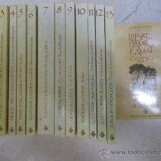 Libros de segunda mano: 13 PRIMEROS NÚM. COLECCIÓN BIBLIOTECA BÀSICA DE MALLORCA. CONSELL INSULAR MALLORCAY ED. MOLL 1987. Lote 37846136