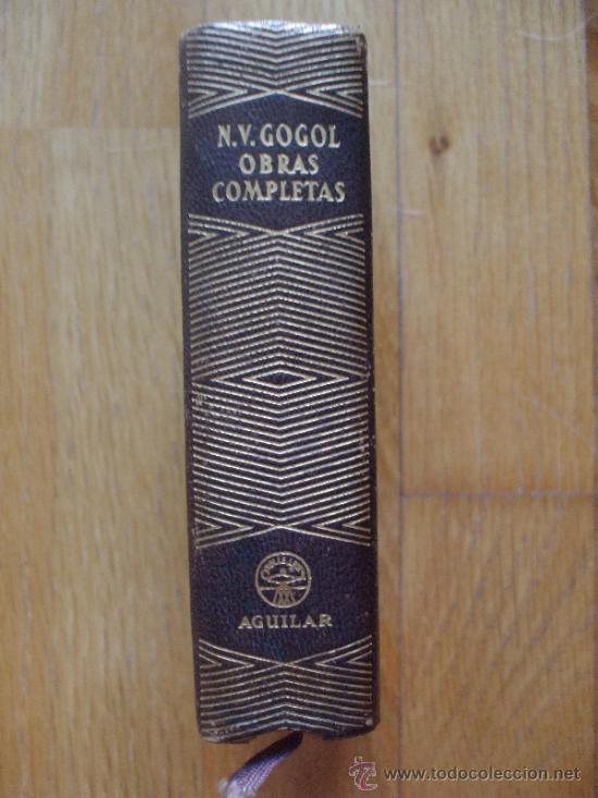 GOGOL, OBRAS COMPLETAS, AGUILAR, JOYAS LITERARIAS (Libros de Segunda Mano (posteriores a 1936) - Literatura - Narrativa - Otros)