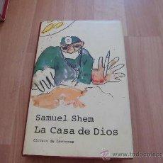 Libros de segunda mano: LA CASA DE DIOS SAMUEL SHEM CIRCULO DE LECTORES 1999. Lote 262959125