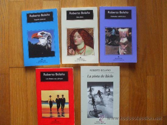 lote 5 libros roberto bola o anagrama comprar en todocoleccion 38434515. Black Bedroom Furniture Sets. Home Design Ideas