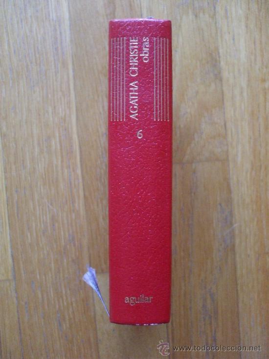 AGATHA CHRISTIE, OBRAS, TOMO 6, AGUILAR (Libros de Segunda Mano (posteriores a 1936) - Literatura - Narrativa - Otros)