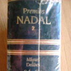 Libros de segunda mano: PRECINTADO, PREMIOS NADAL 2 DELIBES + ARBÓ + CARREÑO. Lote 38553578