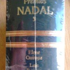 Libros de segunda mano: PRECINTADO, PREMIOS NADAL 3 QUIROGA + ROMERO + MEDIO. Lote 38553647