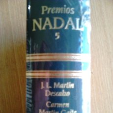 Libros de segunda mano: PRECINTADO, PREMIOS NADAL 5 DESCALZO + MARTÍN GAITE + CADELLANS. Lote 38553697