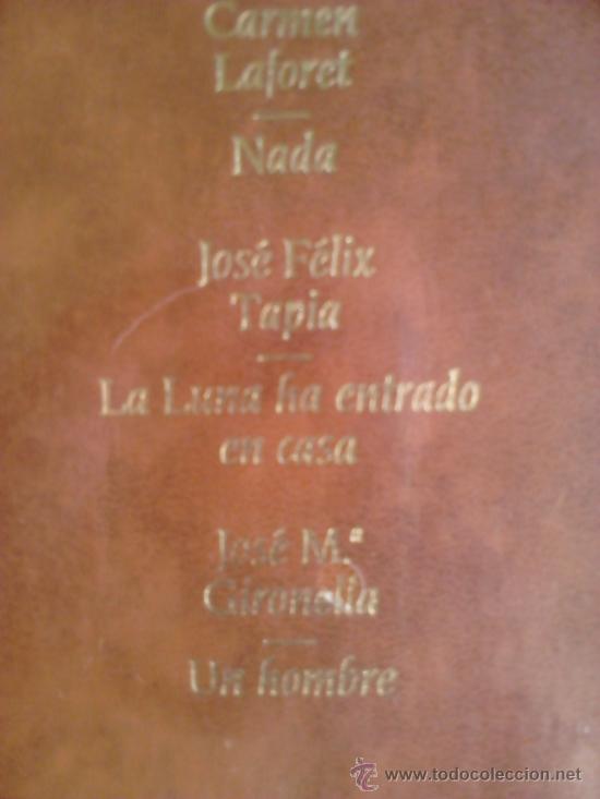 Libros de segunda mano: Precintado, Premios Nadal 1 Laforet + Tapia + Gironella - Foto 3 - 38553570