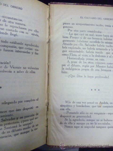 Libros de segunda mano: EL CALVARIO DEL OBRERO, por Luis de Val, tomo II, 2040 pag. - Foto 4 - 241155140
