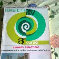 Libros de segunda mano: CENTRO NACIONAL DE ENSEÑANZA MEDIA POR RADIO Y TELEVISIÓN BACHILLERATO 3 ER CURSO ALEMAN. EST2B3. Lote 39265133