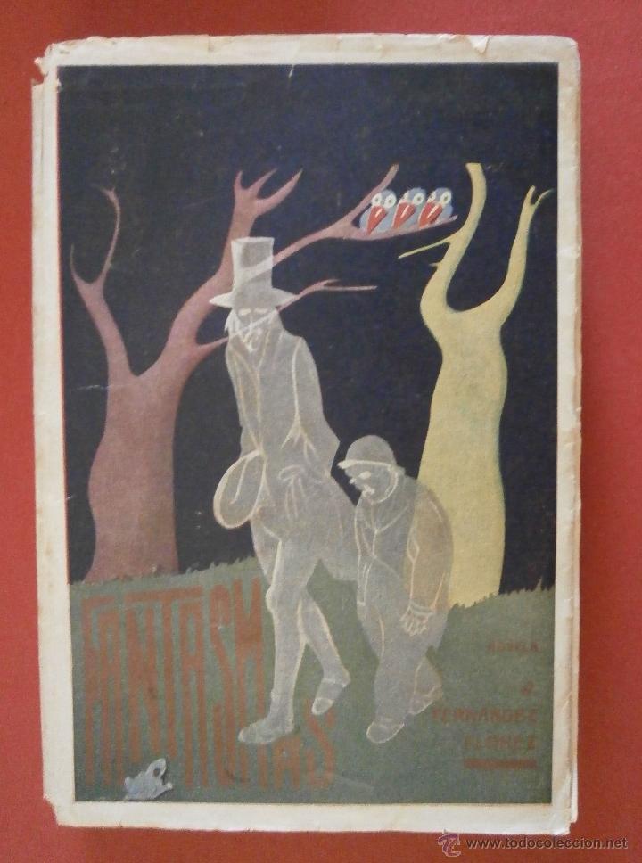 FANTASMAS. NOVELA. W. FERNANDEZ-FLÓREZ. (Libros de Segunda Mano (posteriores a 1936) - Literatura - Narrativa - Otros)