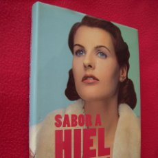Libros de segunda mano: SABOR A HIEL - ANA ROSA QUINTANA. Lote 183059686