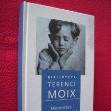 Libros de segunda mano: MEMORIAS. EL PESO DE LA PAJA. EL CINE DE LOS SABADOS - TERENCI MOIX. Lote 39793099