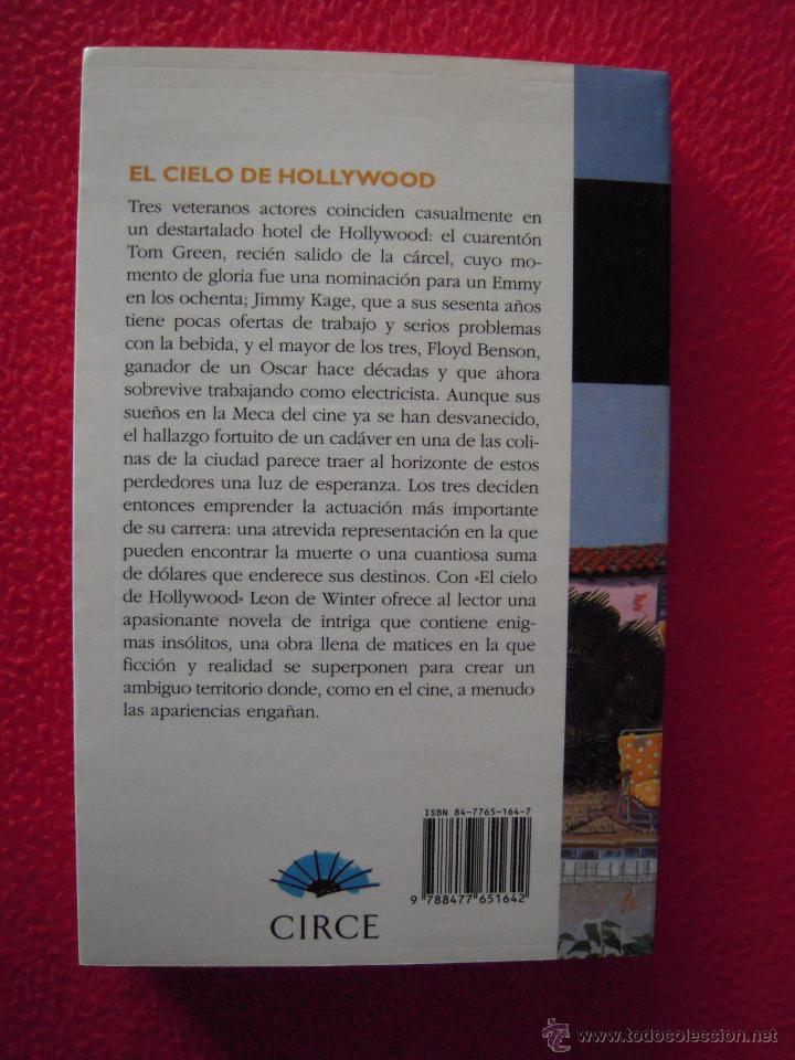 Libros de segunda mano: EL CIELO DE HOLLYWOOD - LEON DE WINTER - Foto 2 - 39778863