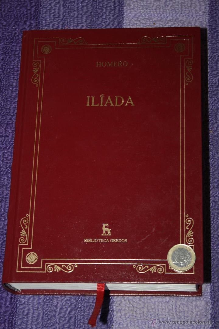 ILIADA HOMERO (Libros de Segunda Mano (posteriores a 1936) - Literatura - Narrativa - Otros)