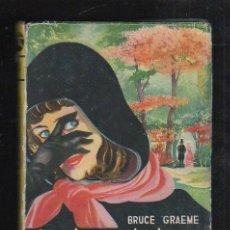 Libros de segunda mano: LA DAMA DE LOS GUANTES NEGROS POR BRUCE GRAEME. COLECCION MINOTAURO. 4. EDITORIAL MATEU, 1957. Lote 40194106