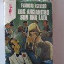 Libros de segunda mano: LOS ANCIANITOS SON UNA LATA- EVARISTO ACEVEDO- PL. Y JANES. COL. RENO. Lote 40349873