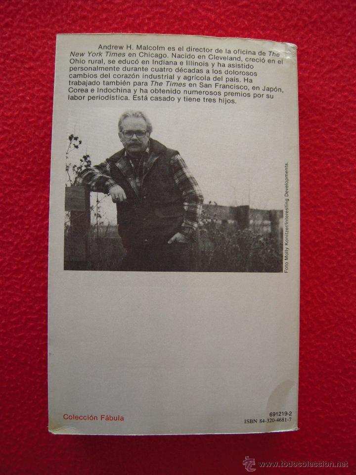 Libros de segunda mano: COSECHA FINAL - ANDREW H. MALCOLM - Foto 2 - 40424616