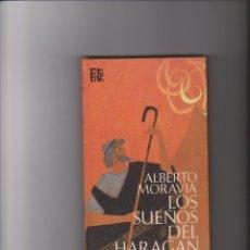 Libros de segunda mano: ALBERTO MORAVIA - LOS SUEÑOS DEL HARAGÁN - P&J 1971. Lote 40429815